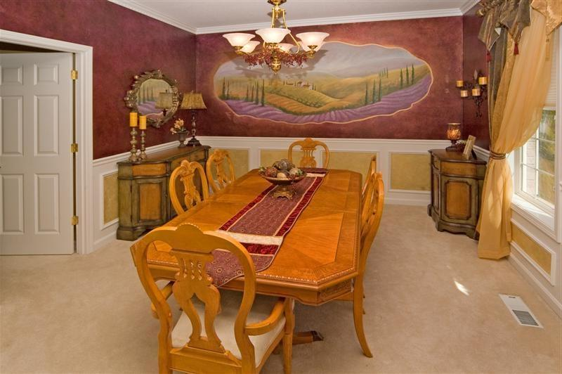 Tuscan Classic Modern Dining Room Furniture