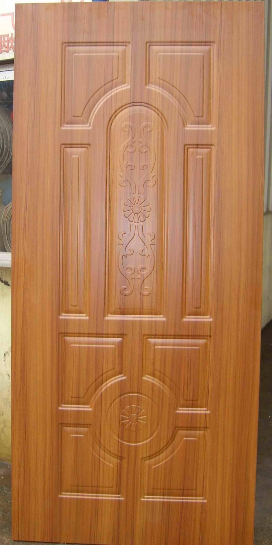 Melamine MDF/HDF door skin--Water resistant, scratch resistant,...