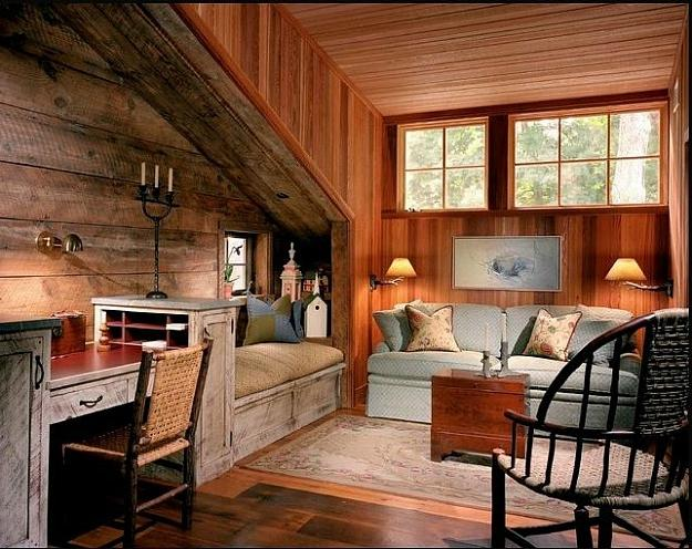 Barn turned into a Guest House (5). The interior design ...