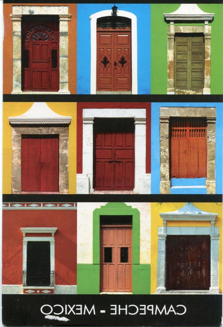 ... mexico-campeche-doors...