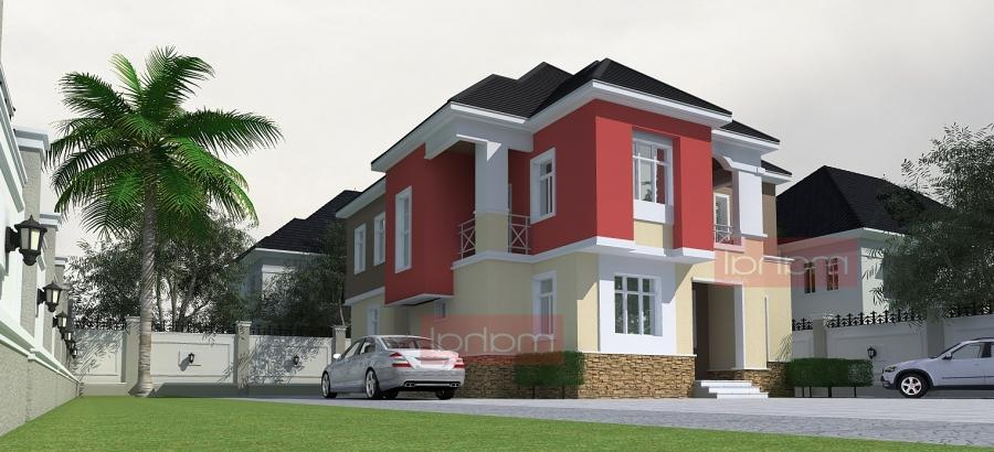 Nwoko House, 4 bedroom Maisonette