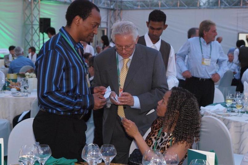 (L-R) Precious Moloi-Motsepe, Executive Director, Motsepe...