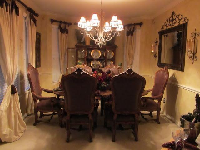 u0026quot;Old World/Tuscanu0026quot; Dining Room