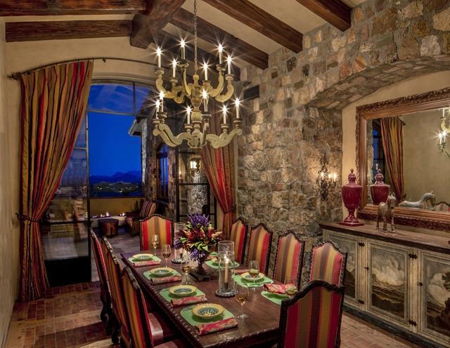 Arizona Tuscan traditional-dining-room