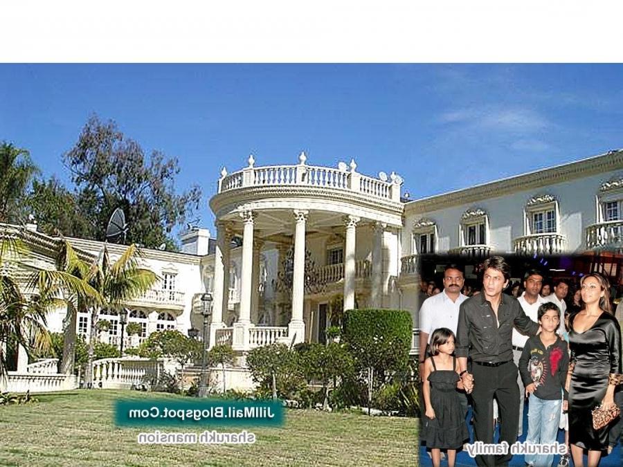 Mannat, the house of Sharukh Khan, the indian cine star