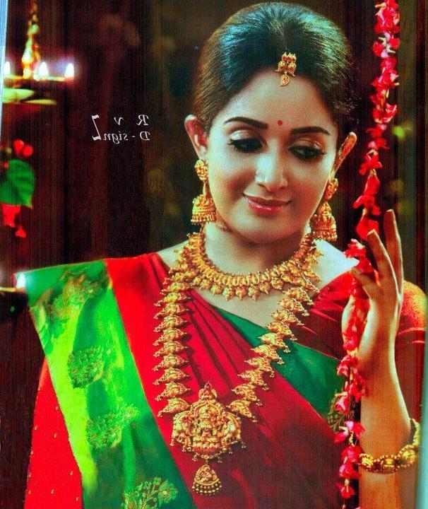 Kavya Madhavan A Geeri Pai Jewellery Ad Shoot, Kavya Madhavan The...