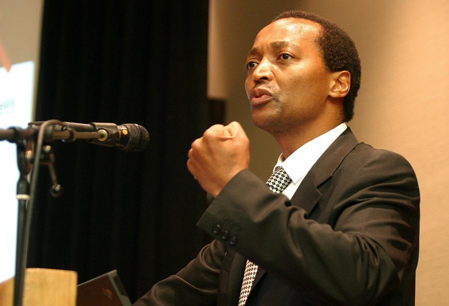 The Prince of Mines: Patrice Motsepe of Harmony at the Sandton...