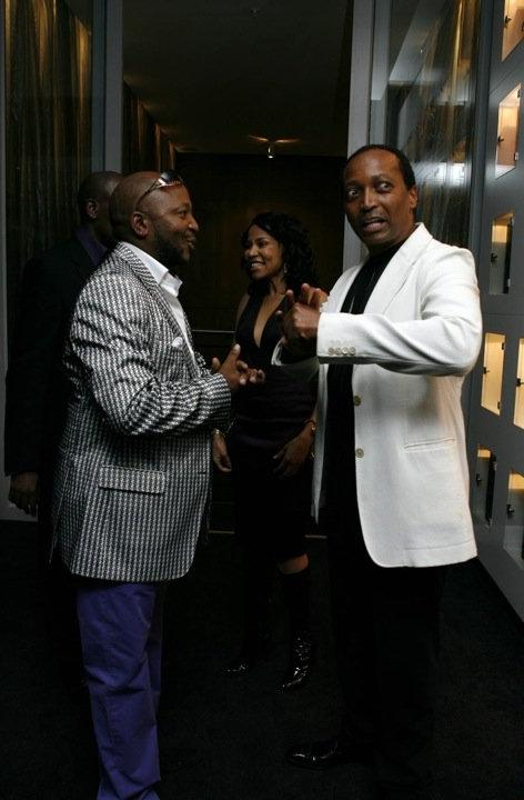 Kenny Kunene with Billionaire Patrice Motsepe at Kuneneu Club ZAR...