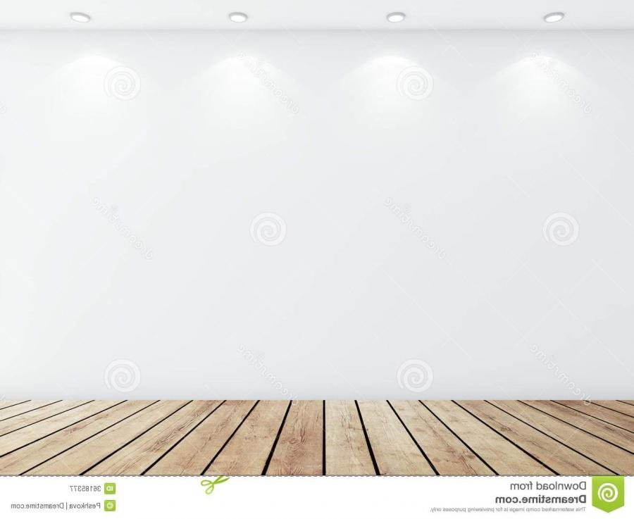 White concrete room