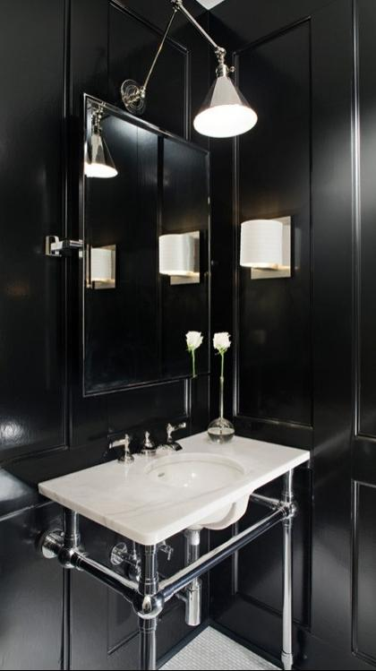 If you want to make your bathroom glamorous, dramatic and...