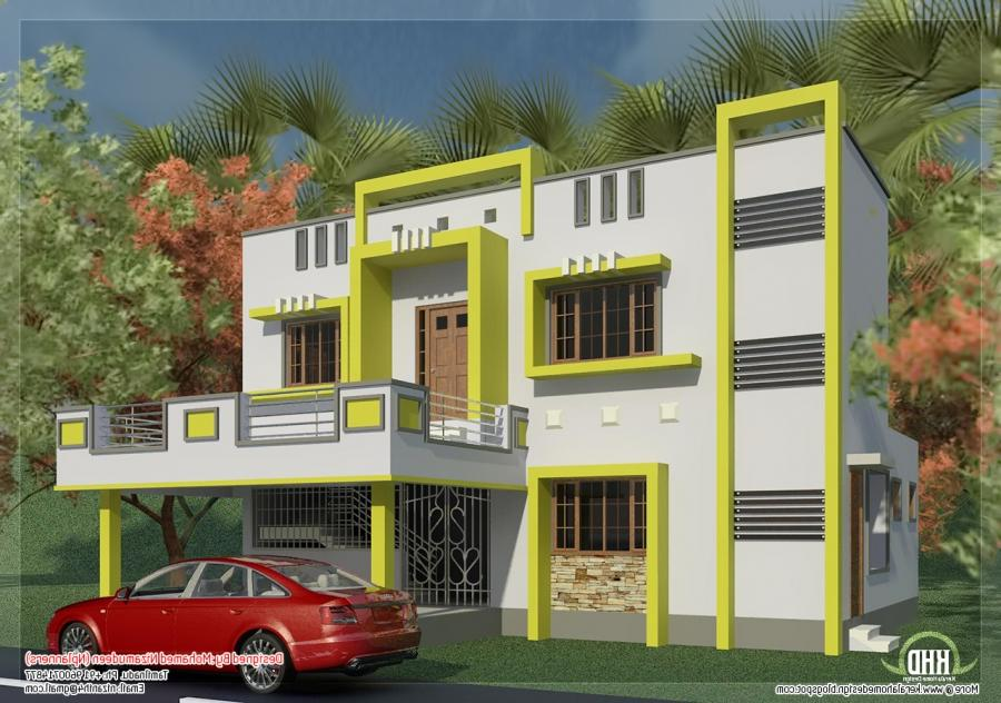 New house photos in tamilnadu for Tamil nadu house plan