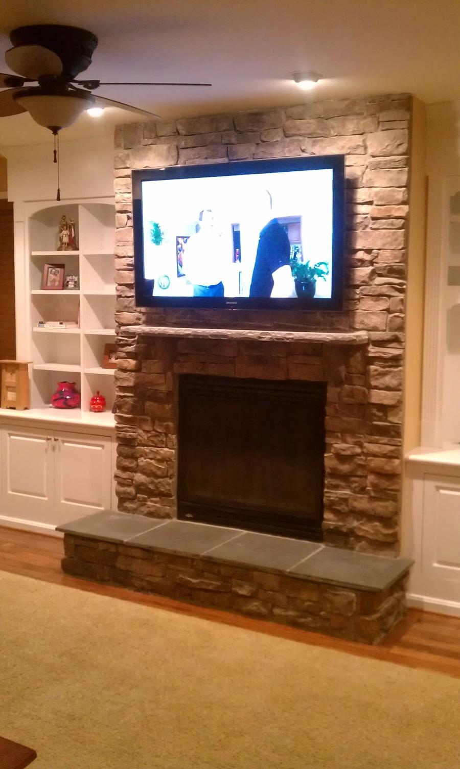 Tv Fireplace Photos