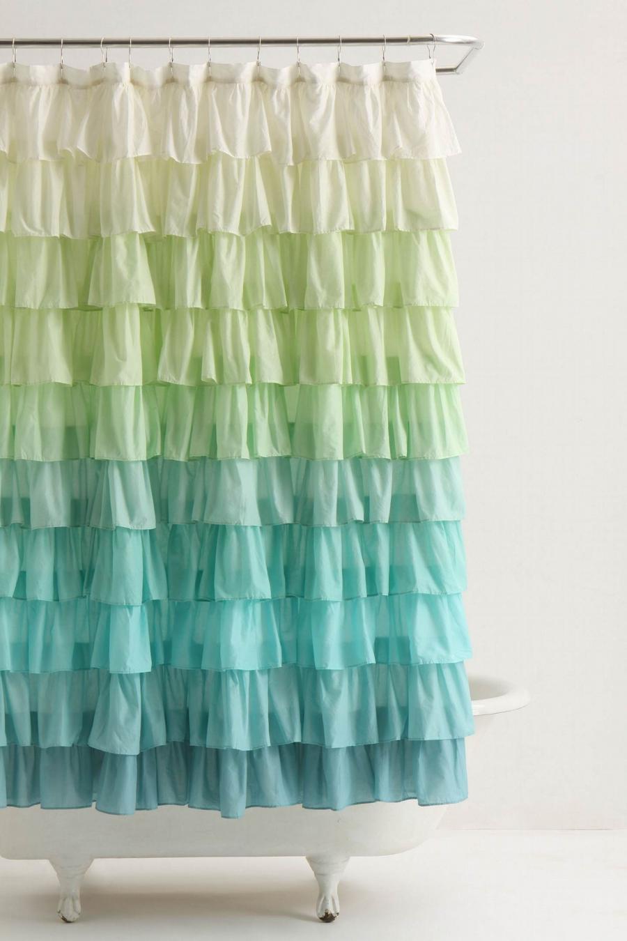 digital photo shower curtain