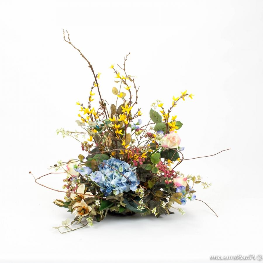 Spring flower centerpieces photos