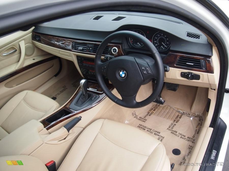 Beige Interior 2006 BMW 3 Series 325i Sedan Photo #76986208