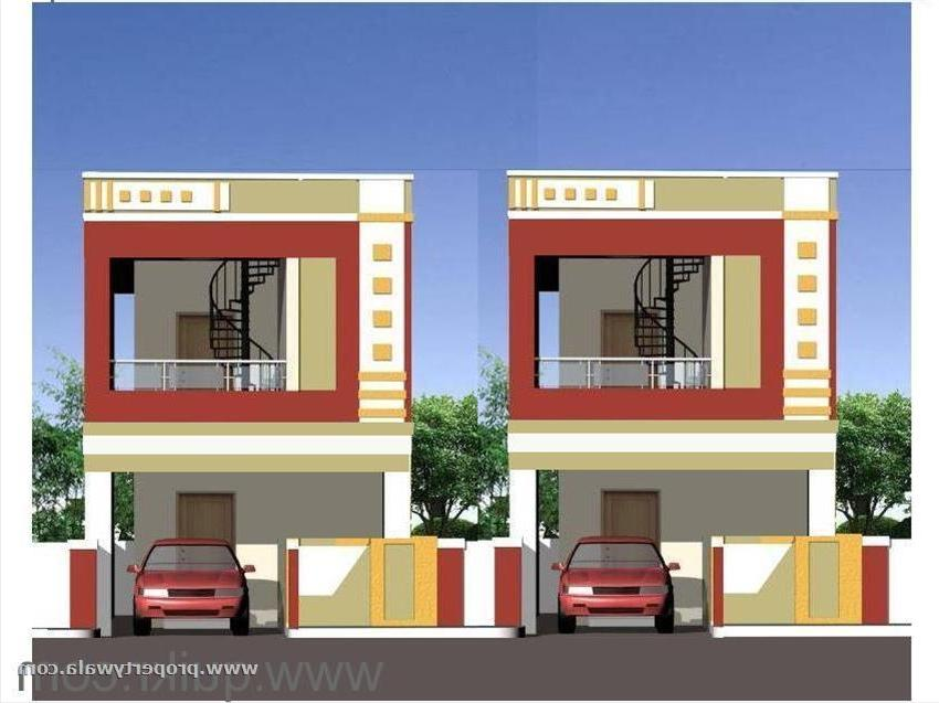 Front Elevation Designs Of Houses In Hyderabad : House front elevation photos in hyderabad