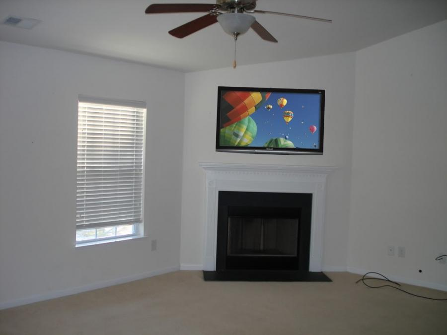 Photos Of Tv Over Fireplace