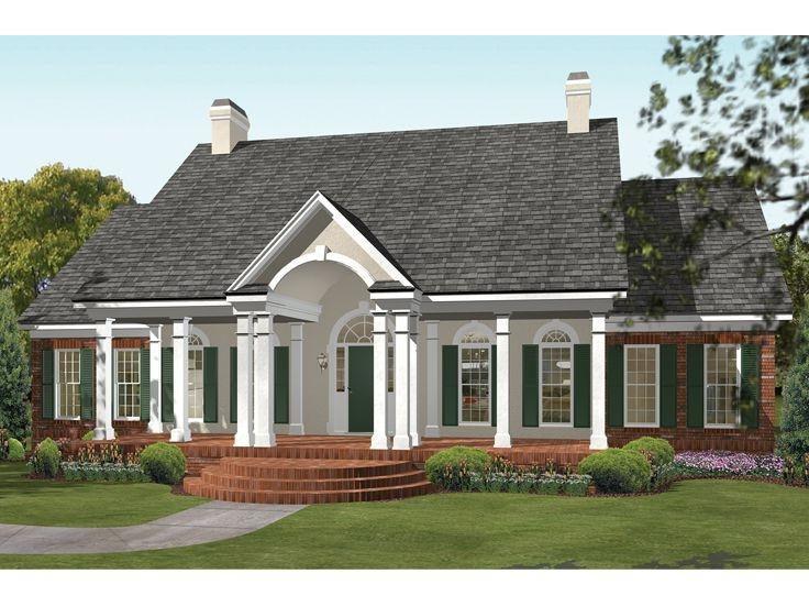 Southern traditional house plans photos for Classic southern house plans