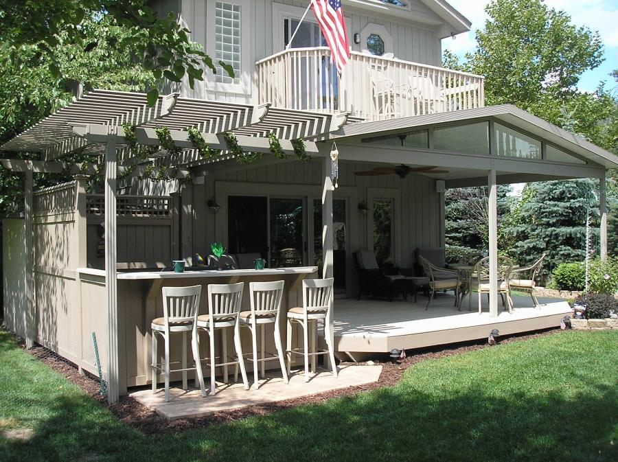 A pergola can serve many functions. It can provide a charming...