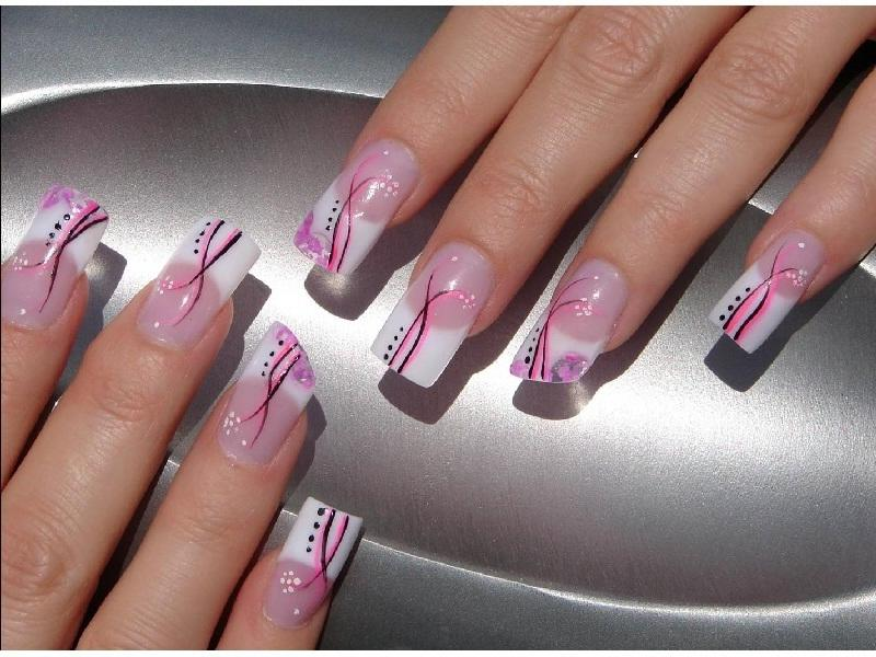 Photo Decoration Ongle Gel