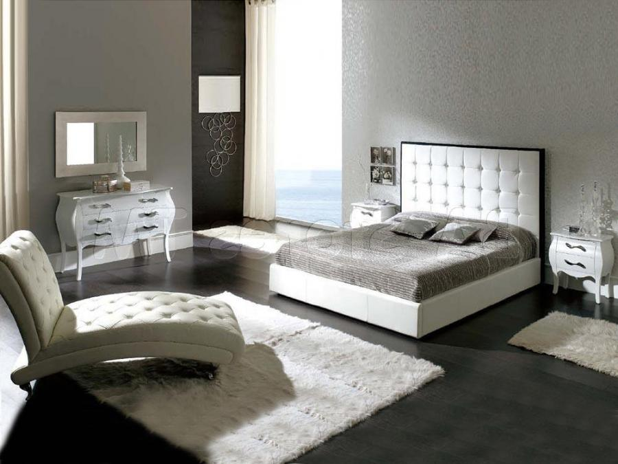 Inspiring White Bedroom Design Amazing With Vibrant Decor