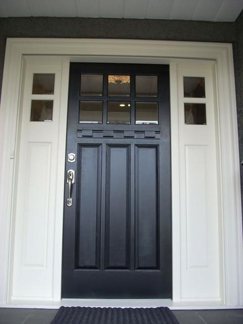 Front door close up - u0026quot;Kerrisdaleu0026quot; paint grade...