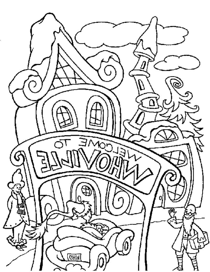 a christmas story movie coloring pages lazy grinch