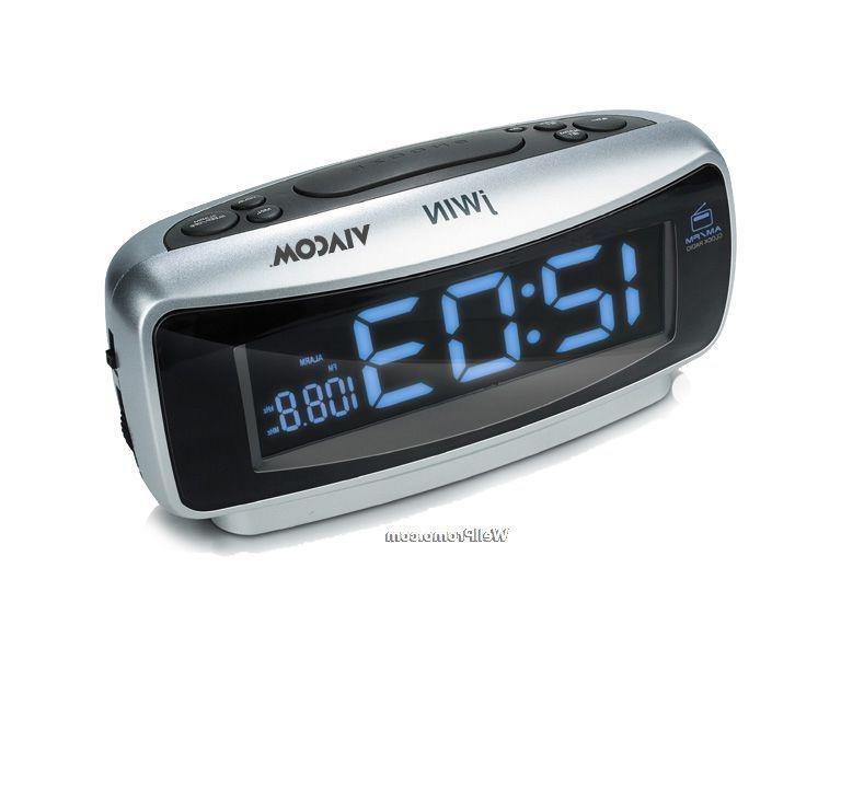 jensen dual digital alarm clock radio with wave sensor jensen jcr 275 am fm dual alarm clock. Black Bedroom Furniture Sets. Home Design Ideas