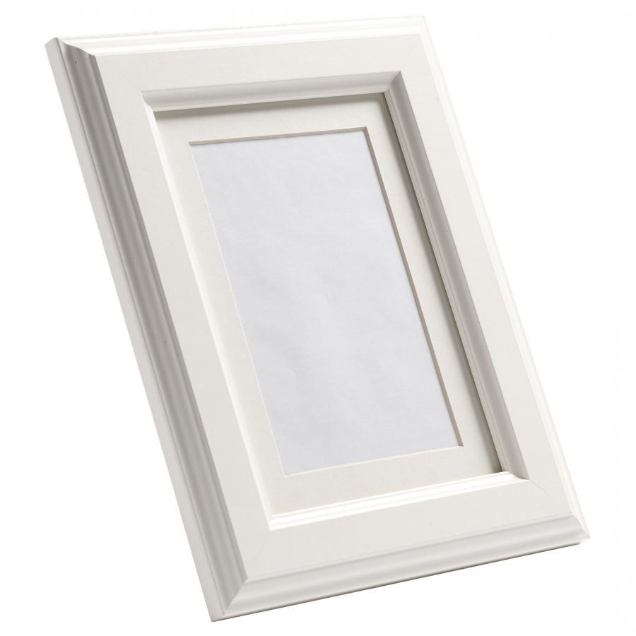 ikea virserum photo picture frame white wood glass. Black Bedroom Furniture Sets. Home Design Ideas