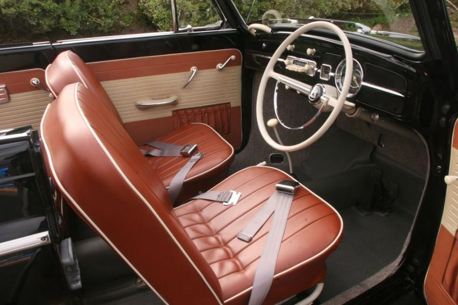 This early 1960s Volkswagen Type 1 convertible shows what a clean...