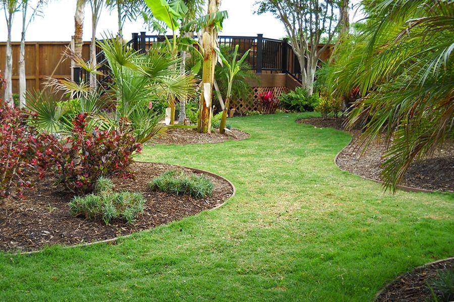Photos Of Tropical Garden Backyards