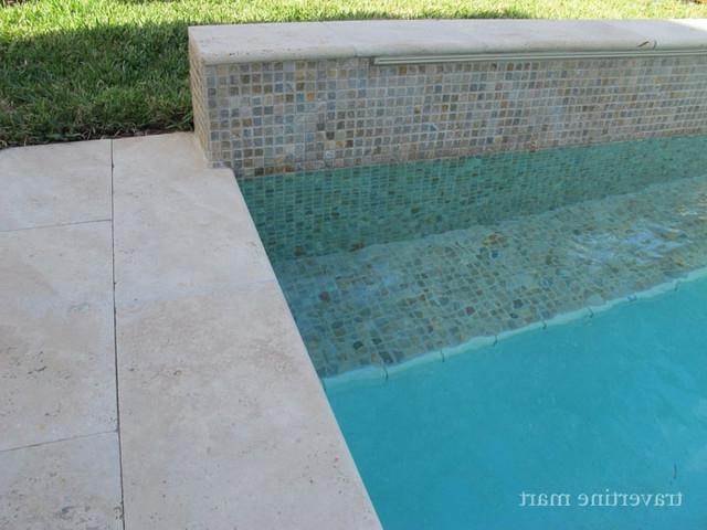 Travertine Pool Tile Photos