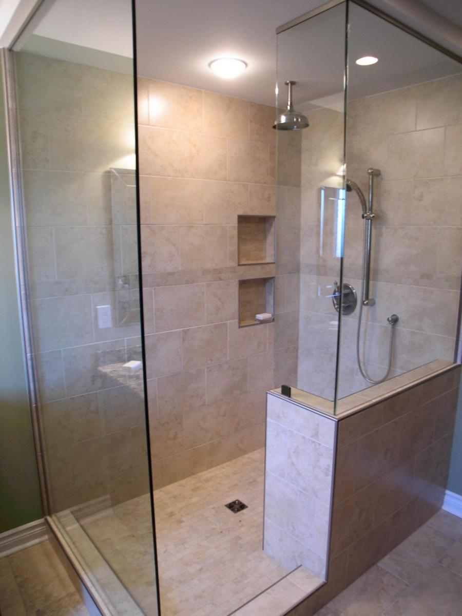 Photos of remodeled bathrooms with walk in showers Bathroom remodel with walk in tub