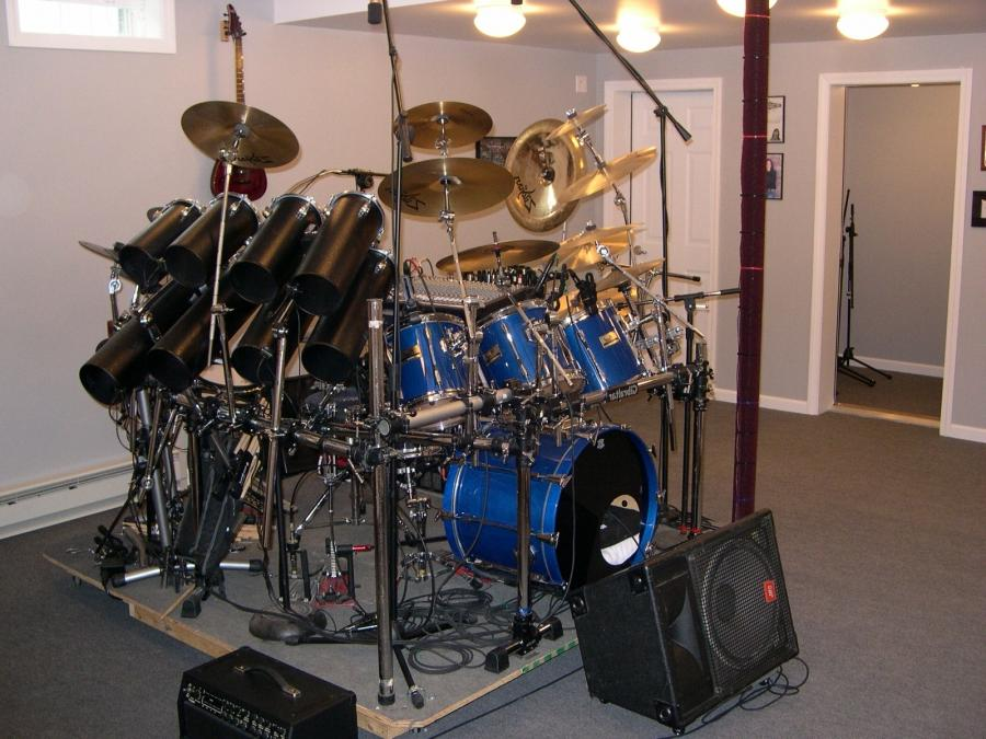 Band Room - Drums, Stage Left