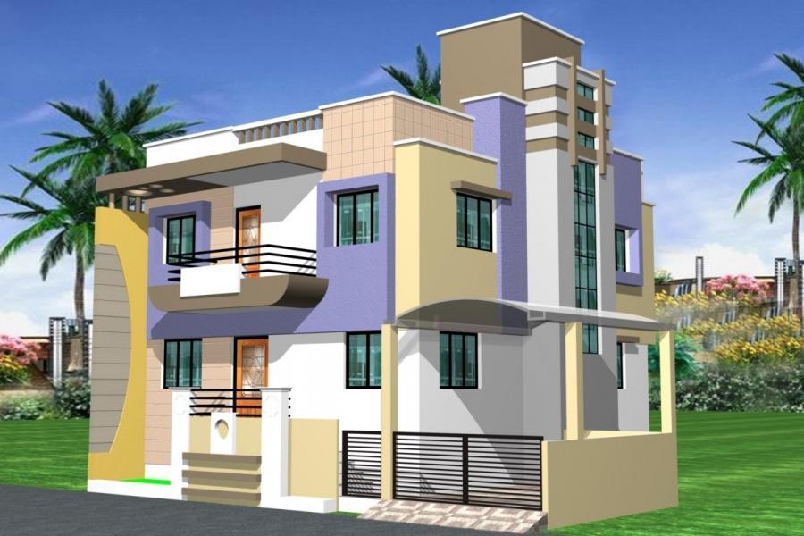 Indian duplex house photos for Indian duplex house plans with photos