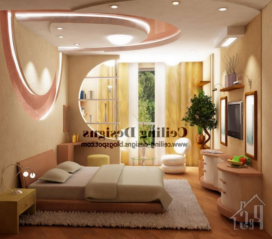 Bedroom Gypsum Ceiling Designs Photos
