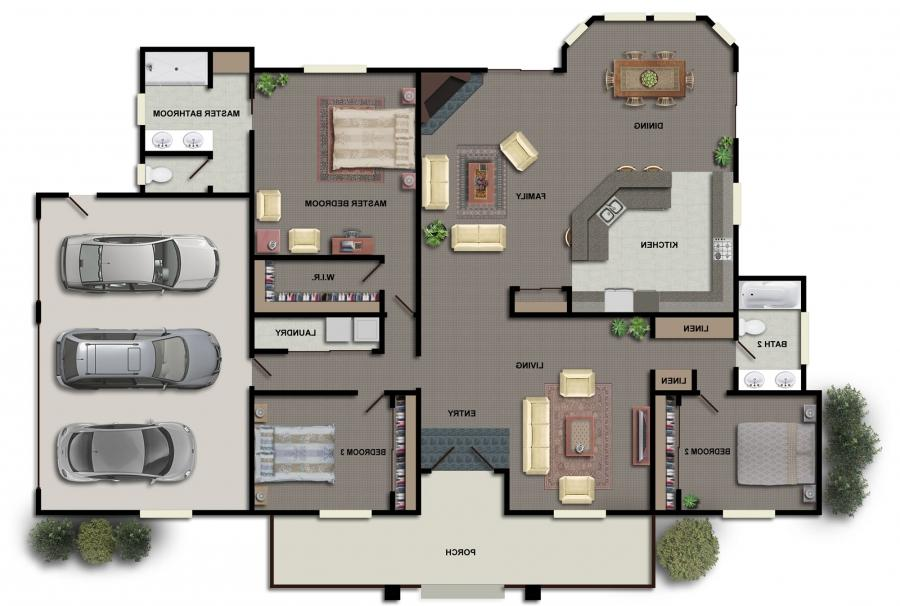 Interior Floor Plans With Photos