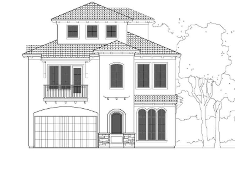 Urban house plans photos Zero lot line home plans
