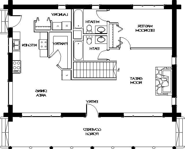 Log Home Photos Floor Plans