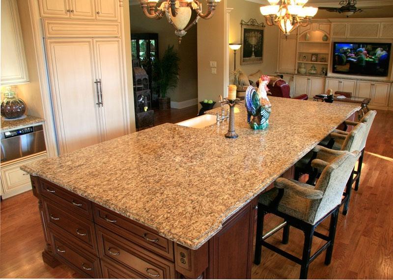 Santa Cecilia Granite Kitchen Photos