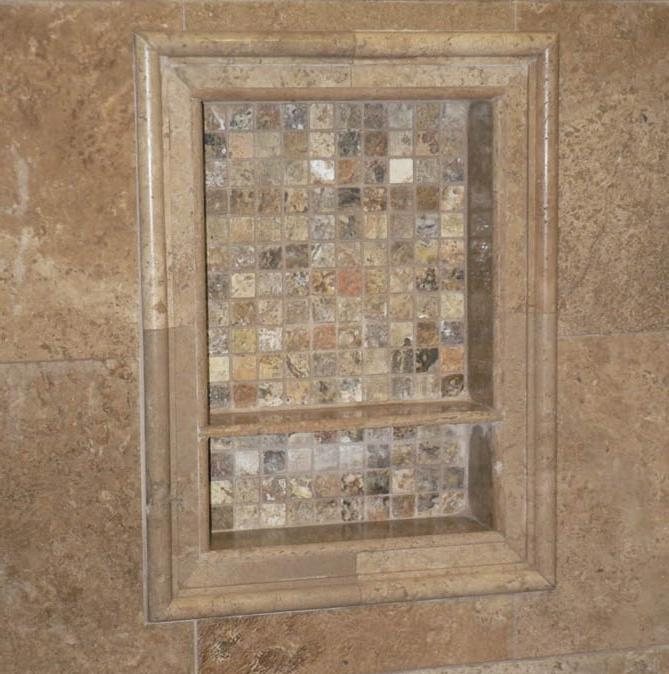Tile Ready Niche Wall : Tile shower niche photos