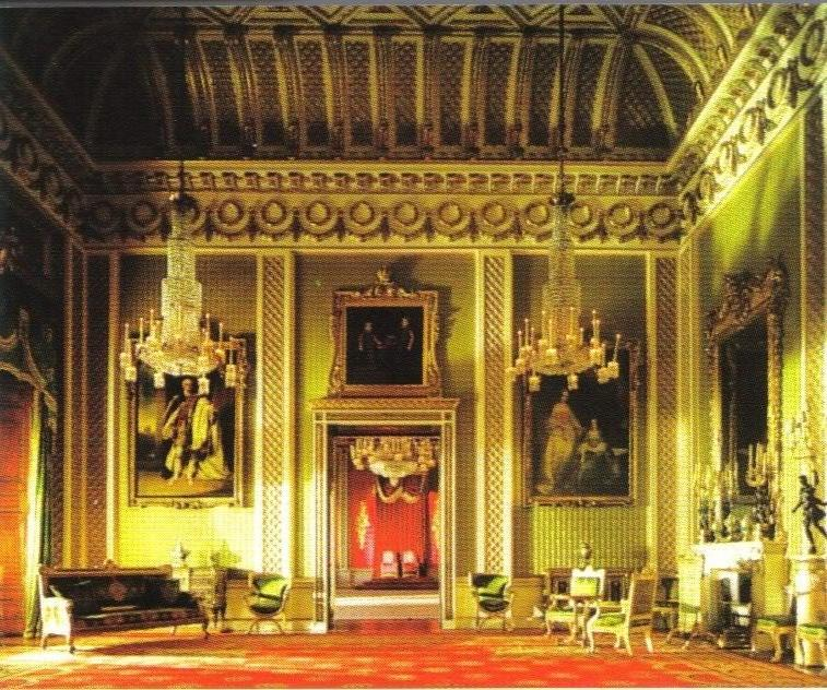 Throne Room Buckingham Palace Photos