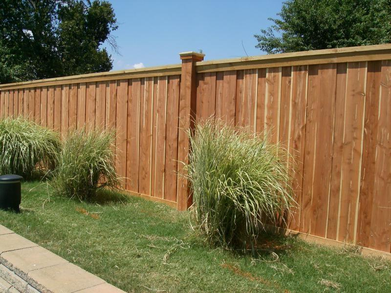 Decorative Wooden Fence Photos