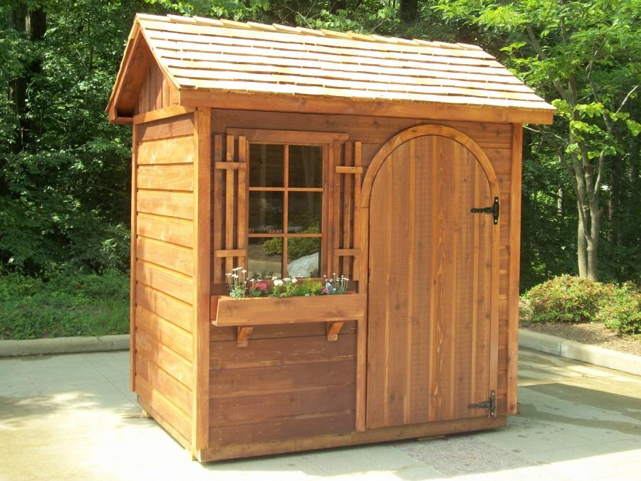 Easy diy garden shed plans do it yourself mother earth for Garden shed designs yourself