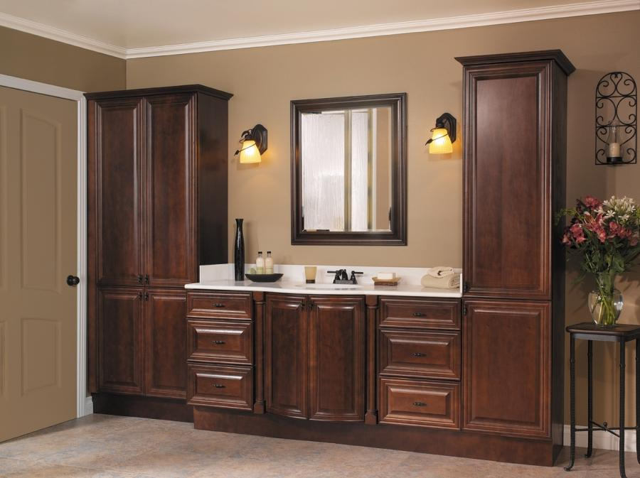 Select Drawer Banks and Linen Cabinets for your bathroom. Even if...