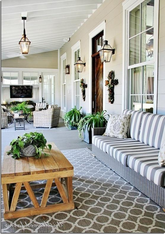 20 Decorating Ideas From The Southern Living Idea House: Southern Living Screened Porch Photos