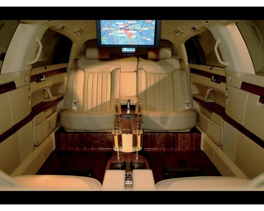 Volkswagen Phaeton Interior Photos