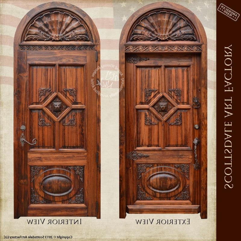 Although many people choose wood doors for their beauty,...