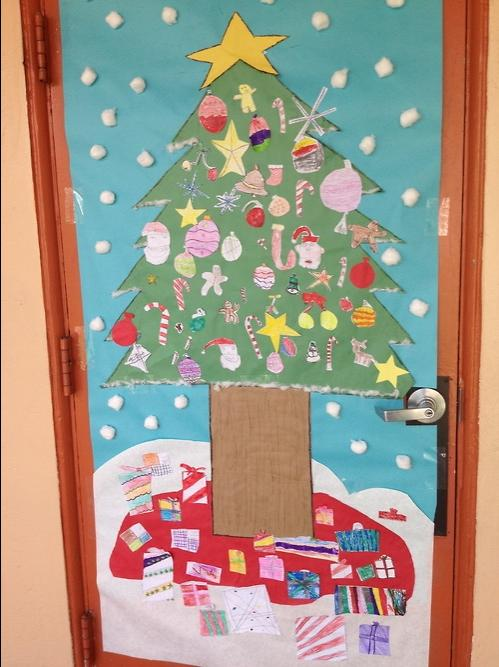 Classroom Christmas Tree Ideas ~ Photos of christmas doors