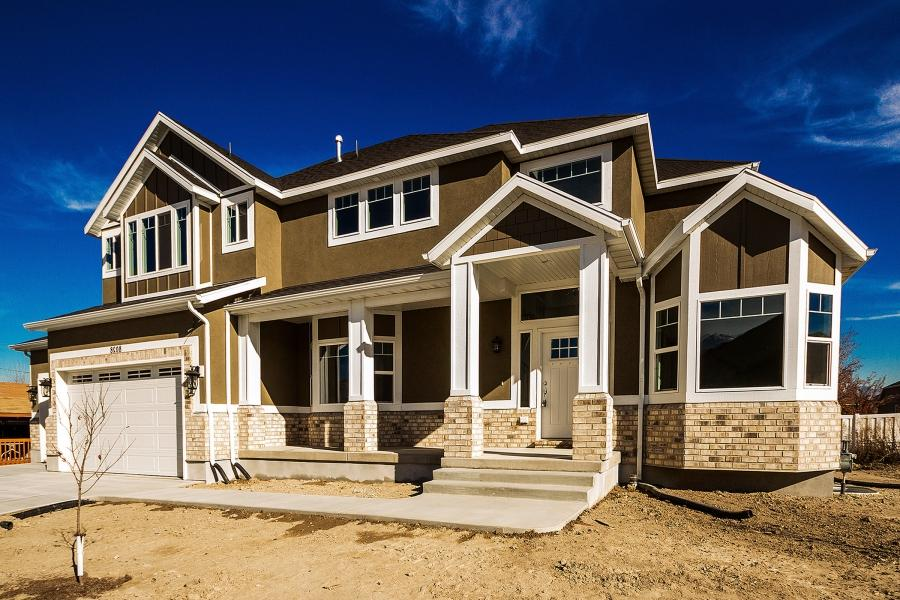 Custom house plans with photos for Utah home design architects